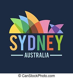 Sydney Opera House Australia Building Icon - Sydney opera...