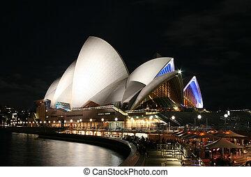 Sydney Opera House - night  Sydney
