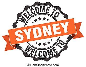 Sydney round ribbon seal