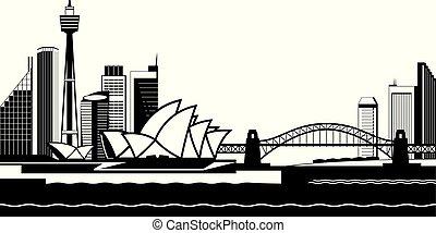 Sydney skyline by day