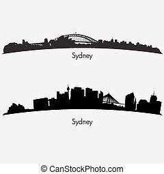 Sydney skylines collection