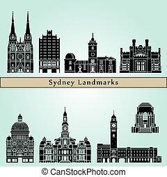 Sydney V3 Landmarks