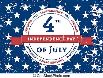 Symbol American Independence Day