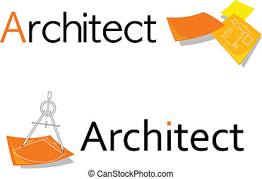 symbol, architekt