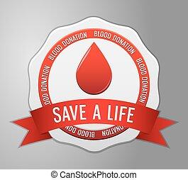 Symbol Blood donation