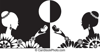 symbol - character of the masculine and womanish beginning