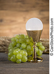 Symbol christianity religion, Communion background