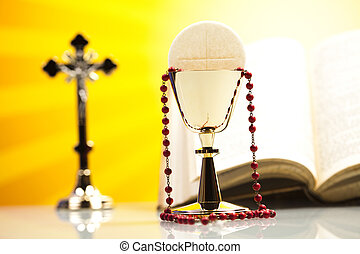 Symbol christianity religion  - Holy of communion