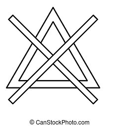 Chlorine material sign chlorine material on the periodic symbol do not bleach black color icon urtaz Gallery