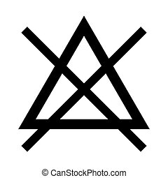 Chlorine material sign chlorine material on the periodic stock symbol do not bleach black color icon urtaz Gallery
