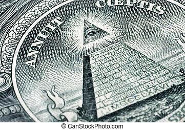 symbol, dollar, æn