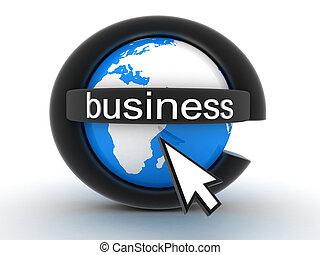 Symbol e-business (done in 3d)