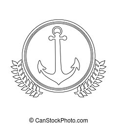 symbol figure anchor icon