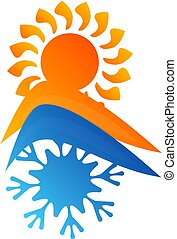 Symbol for air conditioner house