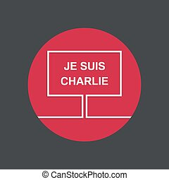 symbol, i, solidaritet, ind, paris