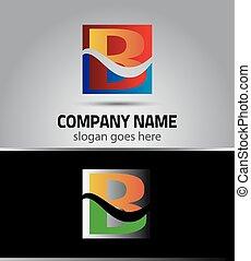 Symbol icon logo for letter B