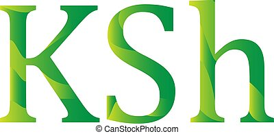 symbol, ikone, kenia, schilling, kenianer, währung