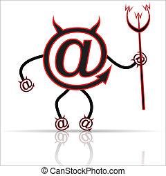 symbol, internet