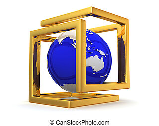symbol, kugelförmig, abstrakt, unendlichkeit, image.