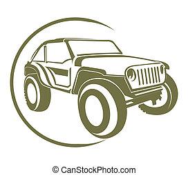 symbol, lastbil
