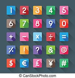 symbol, liczba