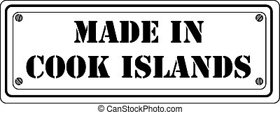 Symbol Made in Cook Islands
