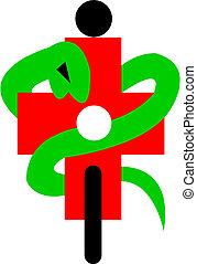 symbol, medicinsk