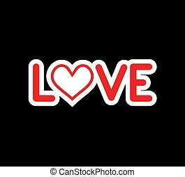symbol, miłość, ładny