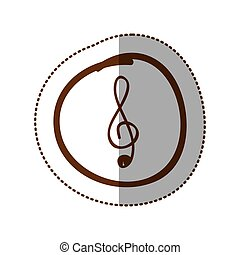 symbol music sign icon