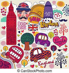 symbol, od, londyn