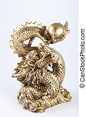 Symbol of 2012 - the Gold dragon