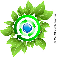 Symbol of a clean environment