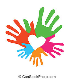 family - Symbol of a happy family - the love and support. ...