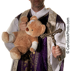 Symbol of abuse in the Catholic Church