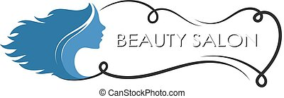 Symbol of beauty salon