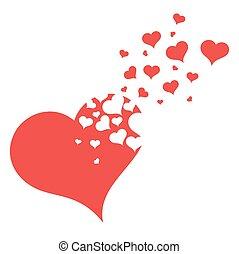 Symbol of broken heart.