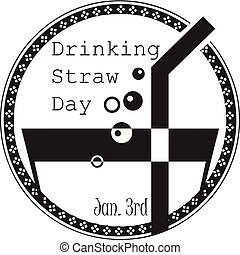National Day of Drinking Straw