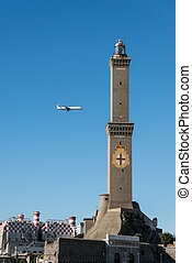 symbol of Genoa, Italy.