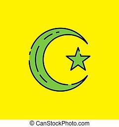 Symbol of Islam icon