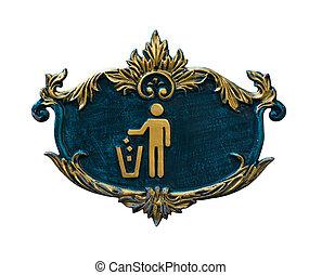 symbol of Keep Clean