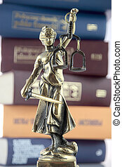 Symbol of law and justice.