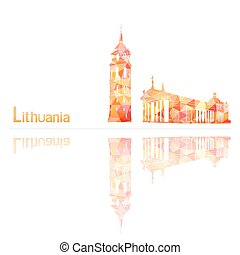 symbol of Lithuania, vector illustration