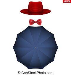 Symbol of nanny Mary Poppins - Mary Poppins equipment....