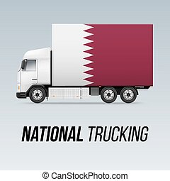 National Delivery Truck - Symbol of National Delivery Truck ...