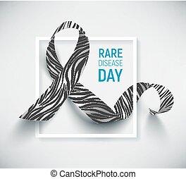 Symbol of rare disease day