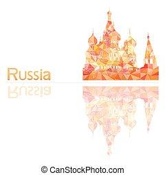 symbol of Russia, vector illustration