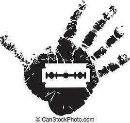 Symbol of suicide