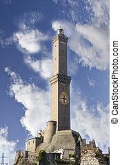 Symbol of the city of Genoa