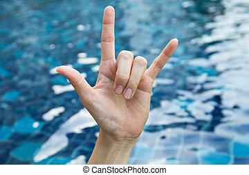Symbol of the hand