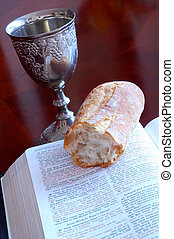 Holy Communion - Symbol of the Lord\\\'s Supper. Holy...